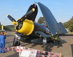 G-FGID 88297 KD345 Duxford 20 September 2015 (ACW367) Tags: duxford corsair usnavy fleetairarm vought fg1d kd345 88297 thefightercollection gfgid falsemarks