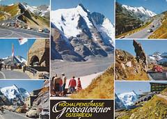 Anscihtkaart postkarte  Österreich Grossglockner 3798 m (dickjan thuis) Tags: österreich postkarte grossglockner 3798m anscihtkaart