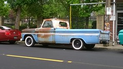 1965 Chevy Truck (Chevrolet Wagoneer's) Tags: original white classic chevrolet up st wall oregon truck vintage portland 60s pacific northwest north wide stjohns pickup tires chevy vehicle pdx walls 1960s pick pnw ptown johns 503 nopo northportland saintjohns 97203 nlombard