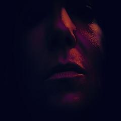Rave visuals (Melissa Maples) Tags: woman selfportrait black me night turkey dark square nikon asia darkness purple trkiye 11 melissa antalya brunette nikkor maples vr afs  18200mm  f3556g  18200mmf3556g d5100
