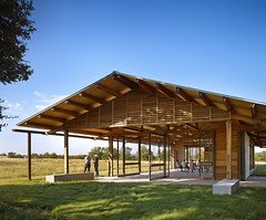 The Dixon Water Foundation Josey Pavilion; Decatur, TX ( Forgemind ArchiMedia) Tags: cote aia     committeeontheenvironment