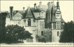 4878 R Saint-Aignan-sur-Cher Saint-Aignan (Loir-et-Cher) - Le Chteau et la Capelle (mon. hist.), style Renaissance XVe sicle ct Est - A.P. (Morton1905) Tags: la style le r ap mon et chteau renaissance est loiretcher sicle ct hist capelle saintaignansurcher 4878 xve saintaignan