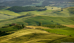 Rolling hills of Tuscany (Dragonfly's Photos) Tags: italy nature landscape tuscany rollinghills