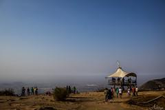 Infinity view... (Aditya Chandra) Tags: travel blue sky india canon point landscape view outdoor infinity bangalore hills karnataka hillstation vantagepoint nandihills longtrip skyporn incredibleindia chikkaballapur