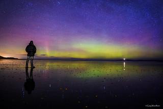 Lasties... - Aurora Borealis, Seahouses, Northumberland