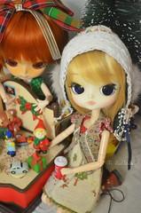 christmas  joy (mari.furtado) Tags: christmas cute doll dal pullip custom coline dals dotori