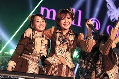 Ghaida Farisya & Natalia (KamenRiderBebek) Tags: new light music festival japan canon mall indonesia photography dance concert anniversary live stage year performance 4th event jakarta idol singer handshake countdown alam 2016 2015 sutera akb48 farisya ghaida jkt48