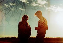 (Azarah Eells) Tags: film silhouette analog 35mm lomo lomography doubleexposure olympus multipleexposure lightleaks 35mmfilm kansas expired olympusom2 expiredfilm sooc azaraheells