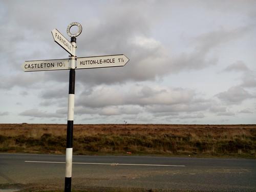 Le North York Moors National Park, en Angleterre