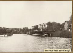 Fox River, Princeton Main Street Bridge, 1913