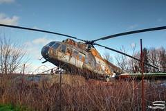 Mil Mi-8 rady for Takeoff (Carsten83) Tags: museum lost place helicopter rotten mil hubschrauber urbex badoeynhausen mi8 lostplace milmi8 verrotten motorradundtechnikmuseum