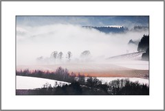Nebliger Wintertag (Misty winter day) (alfred.hausberger) Tags: winter nebel bad wintertag trb griesbach balkonblick rottal nebelstimmung