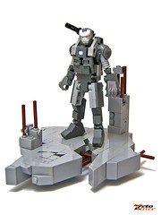 War Machine (ZetoVince) Tags: man greek war iron lego vince machine marvel warmachine zeto zetovince