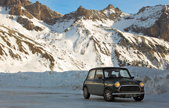 On the top of the Alps (NaPCo74) Tags: snow mountains alps ice montagne alpes austin track mini du racing course h cooper after hours neige 12 endurance chevalier circuit alp eight col bmc glace hautes heure 1275 serre heures 998 lautaret