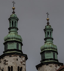 towers (juiceSoup) Tags: krakow