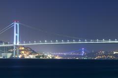 Bridges of Bosphorus (A.Keskin) Tags: city longexposure bridge sea night turkey istanbul bosphorus