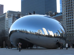 Chicago: Cloud Gate (The Bean) (zug55) Tags: chicago illinois cloudgate thebean anishkapoor sculpure