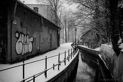 (Derek Knight Photography) Tags: still calm snowfall cieszyn littlevenice winterwalk