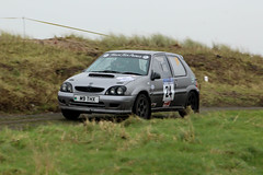 legend fire rally 2016 | saxo | M9 THX (Jgalea14) Tags: window glass grass car wheel canon fire mirror rally round physics legend blackpool rotary fleetwood saxo 2016 100d