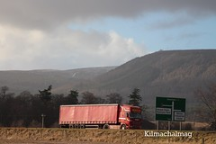 Boyle International Transport Ireland Scania R500 8V ULZ 2699 (Kilmachalmag) Tags: ireland scotland highlands ni northern v8 scania a9 alness curtainsider cnocfyrish