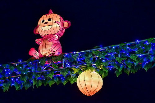 Monkey Lanterns by chooyutshing, on Flickr