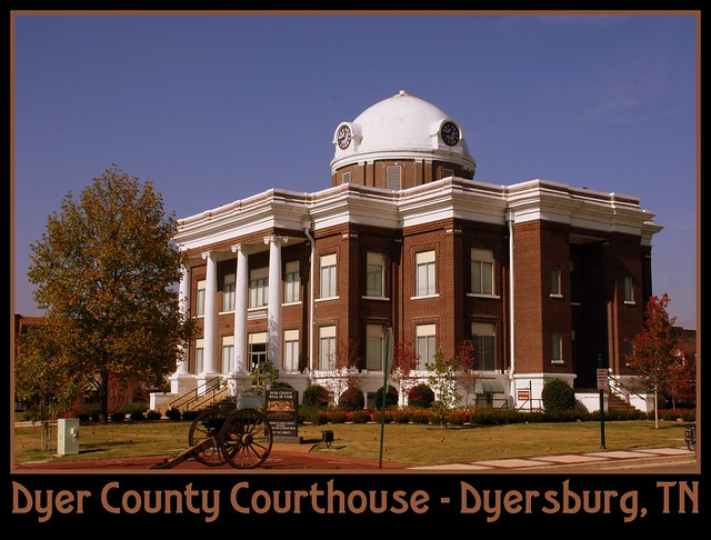For Sale: TN Courthouse Postcard Collection: Dyer
