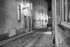 Cobblestone Streets (Mark Griffith) Tags: travel bw work amazon amazoncom luxembourg businesstravel silverefexpro2 sonyrx1m2 sonyrx1rm2 20160121dsc02298edit