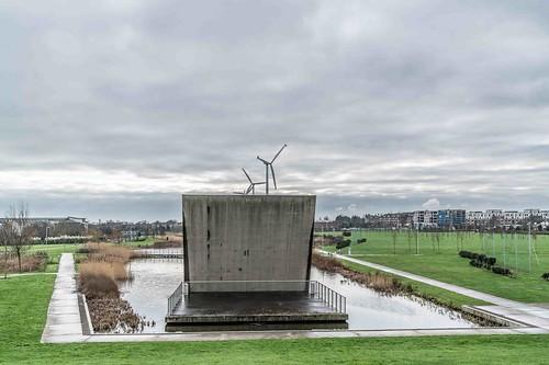 Wind Powered Public Park In Clongriffin Dublin [Father Collins Park]-110981