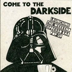 Starting this Saturday we will have an espresso bar POPUP with @modcupcoffee. Weekends only 9-5 pm. Come and join Anakin. BTW Darth Vader is a Goth! #jerseycity #jcmakeityours #jceats #jcdrinks (bucketandbay) Tags: jerseycity gelato bucketandbay
