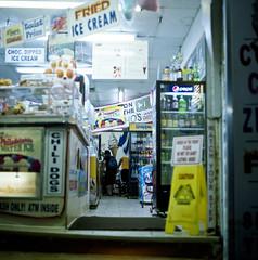 Late Night Ice Cream (Space Pant) Tags: newjersey nj atlanticcity boardwalk mamiyac220 fujicolorpro400h