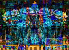Carrusel fantasma. 24832291160_d9ca46a183_o (seguicollar) Tags: carnival lights juegos carnaval verbena tiovivo carrusel photomanipulacin imagencreativa virginiasegu