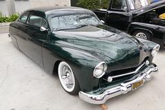 1950 Merc Fatboy Custom (bballchico) Tags: mercury chopped custom fatboy 1950 merc kustom grandnationalroadstershow saturdaydrivein marvincoley gnrs2016 mercoholicsofsocal