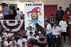 Hillary Clinton sign (Gage Skidmore) Tags: new york las vegas businessman point clinton south nevada president rally donald arena hillary trump campaign caucus 2016