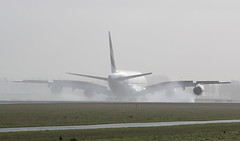 Emirates Airbus A380-800 (AMSfreak17) Tags: world holland netherlands dutch amsterdam canon de airplane airport aircraft airplanes nederland landing emirates planes airbus a380 danny approach schiphol runway ams vliegtuig the eham planespotting luchthaven spotter vliegtuigen 70d luchtvaart polderbaan of a380800 soet 18r amsfreak17 a6eon