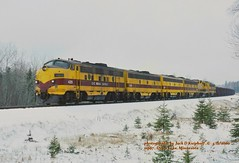 (SEE & HEAR), LTV 4211, MP-67, MN. 4-12-2000 (jackdk) Tags: railroad snow train railway locomotive ore taconite f9 f7 emd clevelandcliffs ltv emdf7 gp20 f7a emdf7a oretrain f9a emdf9 seehear orejenny emdgp20 seeandhear cliffsminning dyerslake dyerslakemn