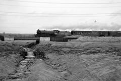 Portskewett 42826bw (kgvuk) Tags: trains locomotive railways mayflower b1 steamlocomotive 460 1306 cathedralsexpress 61306 portskewett southwalesrailway