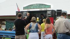 john measner (timp37) Tags: show county summer sign john theater magic crowd july indiana fair porter 2015 measner