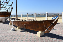 Oman - 2015-1406 (MacClure) Tags: museum boat sur oman dhow houri