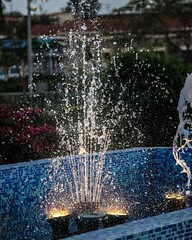 Dance of a Siren #fountain #water... (rahul ravi singh) Tags: blue water fountain bubbles uploaded:by=flickstagram instagram:photo=11600358814178649832267891948