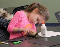 Georgetown Craft Adventures January 21, 2016 - Toilet Paper Roll Winter Animals (ACPL) Tags: georgetown geo toiletpaperroll fortwaynein acpl winteranimals allencountypubliclibrary craftadventures