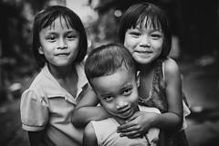 Kids Bangkok (siebe ) Tags: street portrait blackandwhite bw monochrome kids children thailand photography blackwhite child bangkok streetphotography photojournalism documentary thai streetphoto 2016 pratunam       siebebaardafotografie