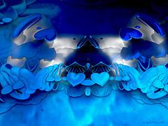 Frozen Hearts 2 (CopperScaleDragon) Tags: blue hearts frozen fractal ise mdb3d