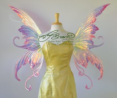 Official Amy Brown Bubble Rider Fairy Wings in Rose Petal (Fancy Fairy) Tags: fairy faery bubble iridescent faerie amybrown fairywings bubblerider