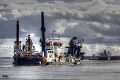 Artemis (Andy Tee) Tags: 2 liverpool self river terminal container birkenhead van artemis suction cutter mersey propelled dredger oord