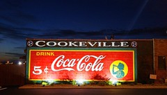Restored Coca-Cola Mural (J.L. Ramsaur Photography) Tags: nightphotography sky sign clouds rural photography photo g4 tennessee coke bluesky pic oldbuildings lg nighttime photograph signage americana cokebottle cocacola thesouth atnight afterdark cumberlandplateau cookeville ruralamerica whiteclouds beautifulsky 2015 cocacolasign smalltownamerica signssigns drinkcoke putnamcounty drinkcocacola deepbluesky cookevilletn skyabove middletennessee cocacolabottle cokesign ruraltennessee ruralview 5 cookevilletennessee ibeauty allskyandclouds tennesseephotographer structuresofthesouth southernphotography screamofthephotographer cocacolabottlingworks jlrphotography photographyforgod itsasign cocacolascript engineerswithcameras jlramsaurphotography cookevegas lgg4 iloveovintagesignretrosignvintagesignageretrosignageiseeasignsigncity restoredcocacolamural restoredcocacolasign restoredcocacolapainting