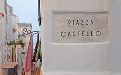 Piazza Castello (giodivi) Tags: mare piazza castello vieste piazzacastello pannistesi panni