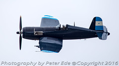 Vought F4U-5N Corsair (Peter Ede) Tags: corsair vought f4u5n tyabbairshow2016