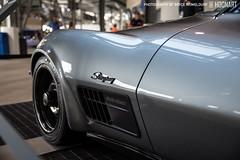 Jimmi Johnson's 1971 retromod Corvette at 2016 Daytona 500 (Bryce Womeldurf) Tags: usa chevrolet race florida racing nascar sema daytona corvette motorsports stockcar daytona500 2016 daytonainternationalspeedway jimmiejohnson speedweek