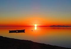 Sunset (Francesco Impellizzeri) Tags: sunset sea sky canon landscape sicily sicilia trapani