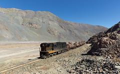Rocky landscape (david_gubler) Tags: chile train railway llanta potrerillos ferronor